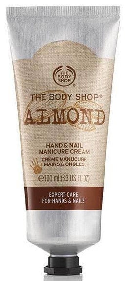 Rankų kremas The Body Shop Almond Hand & Nail Manicure, 100 ml