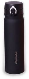 Kamille Vacuum Flask 500ml Black KM2005B