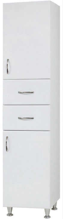 Шкаф для ванной Sanservis P-1 White, 40x200x41 см