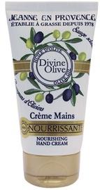 Rankų kremas Jeanne en Provence Divine Olive, 75 ml