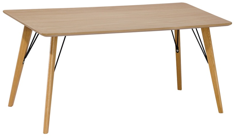Kavos staliukas Home4you Helena Brown, 1100x600x450 mm