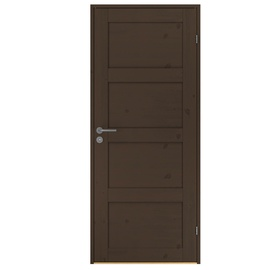 Uks täispuit Rustic 337 10x21dm pähkel