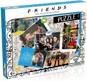 PUZLE 1000 FRIENDS SCRAPBOOK WM00378