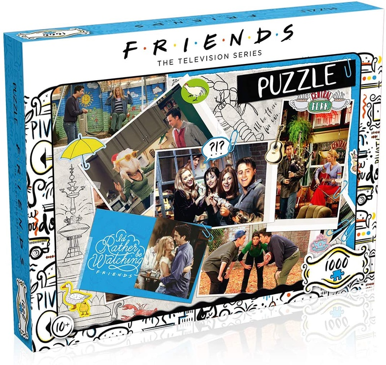 PUZLE 1000 FRIENDS SCRAPBOOK WM00378