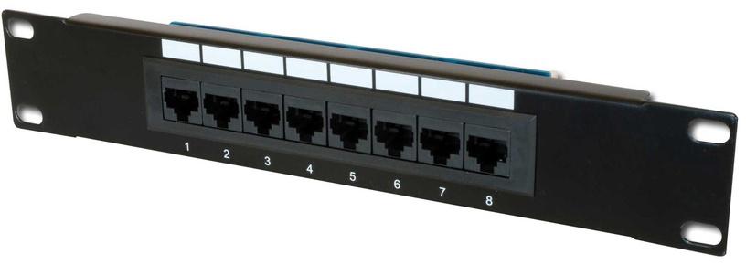 Коммутационная панель Digitus CAT5e Class D Patch Panel 8-Port UTP DN-91508U