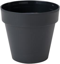 Form Plastic Flower Pot Ibiza Soft Mat Ø20cm 4140-014 Black