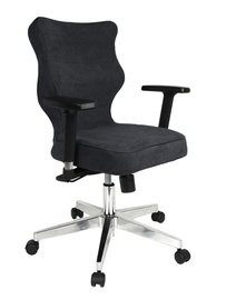 Entelo Nero Poler Chrome Office Chair AT33 Navy Blue