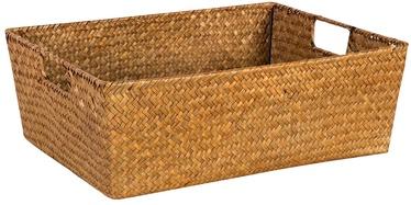 Home4you Basket Petra 3 34x25x14cm Brown