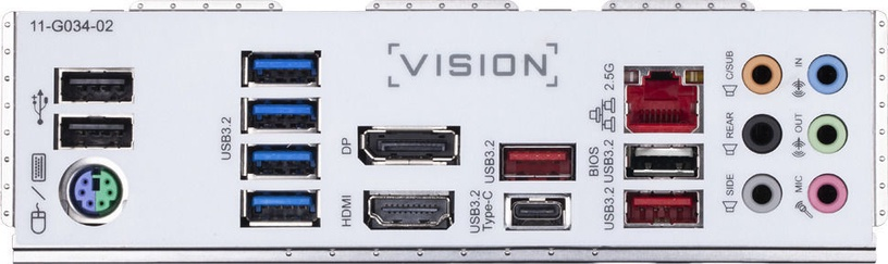 Mātesplate Gigabyte Z490 VISION G