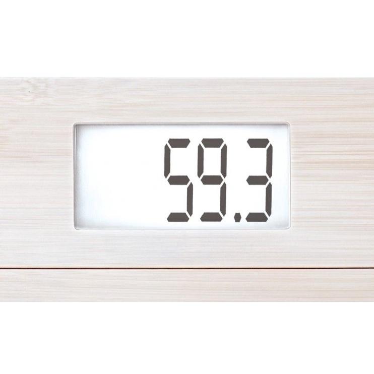 Soehnle Electronic Scales Bamboo White