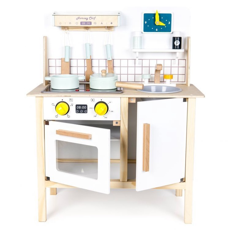 EcoToys Wooden Kitchen With Sounds