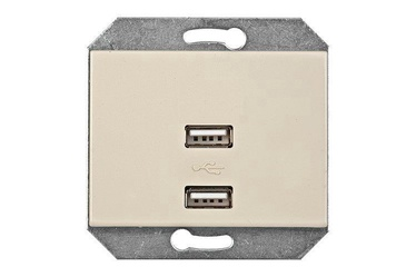 Vilma Electric XP500 USB Socket 111054201237 Sand