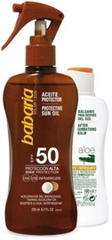 Babaria Set Protein Monoi Tahiti Oil SPF50 200ml + After Sun Aloe Vera Balm 100ml