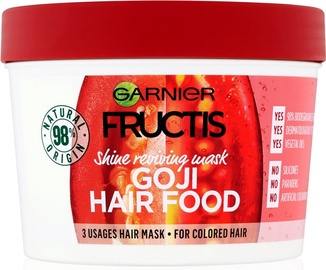Garnier Fructis Nourishing Hair Mask Goji Hair Food 390ml