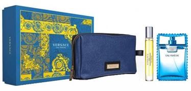 Versace Man Eau Fraiche 100ml EDT + 10ml EDT + Bag