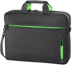 "Hama ""Marseille"" Notebook Bag 15.5"" Grey/Green"