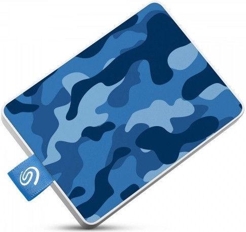 Seagate One Touch 500GB Camo Blue