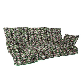 Home4you Roma Swing Cushions 108x56x10cm Flamingos 3pcs