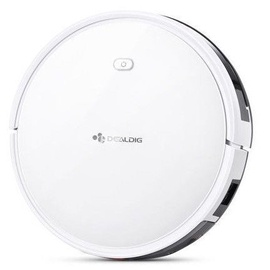 DealDig Robvacuum 8 Smart Robot Vacuum Cleaner White