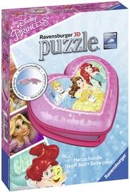 3D puzleRavensburger Disney Princess Heart Box 121144, 54 gab.