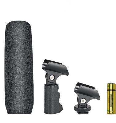 Микрофон Audio-Technica Condenser Shotgun Microphone ATR6550X Black