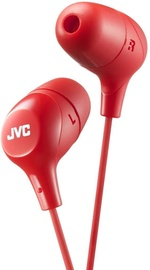 JVC HA-FX38-E In-Ear Earphones Red