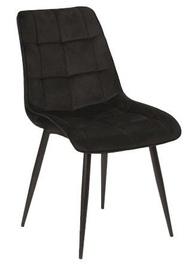 Valgomojo kėdė Signal Meble Chic Velvet Black, 1 vnt.
