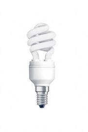 Säästulamp GE T2 8W/865, E14 spiraal