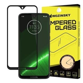 Wozinsky Full Glue Super Tough Screen Protector Full Coveraged For Motorola Moto G7 Black