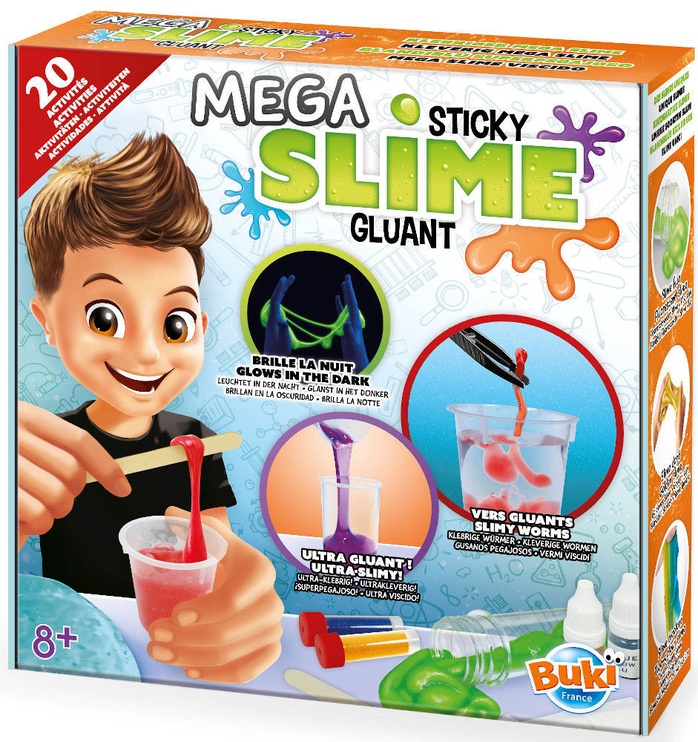 Buki France Experiments Mega Sticky Slime