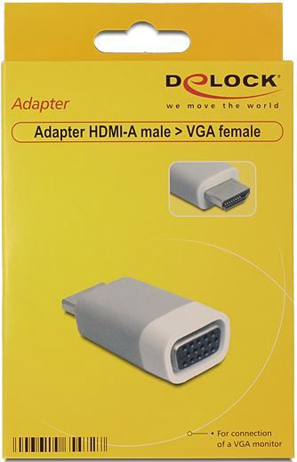 Delock Adapter HDMI-A to VGA
