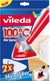 Vileda Steam and 100°C Hot Spray Microfibre Refill Pads