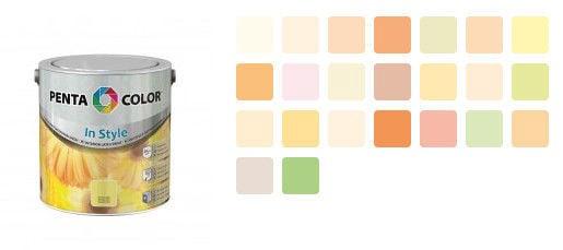 Krāsa Pentacolor in style persiku 2,5l
