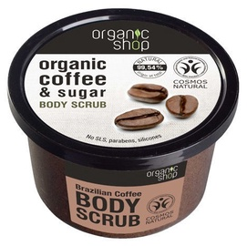 Скраб для тела Organic Shop Brazilian Coffee, 250 мл