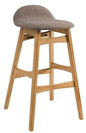 Signal Meble Trento Bar Stool Oak/Grey