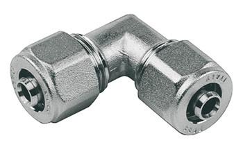 Užveržiamoji alkūnė TDM Brass, 32 mm x 3 mm