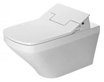 Sienas tualete Duravit DuraStyle SensoWash Rimless, ar vāku, 375x620 mm