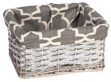 Home4you Basket Max 5 24x18xH12cm Grey