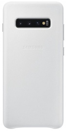 Samsung Leather Cover For Samsung Galaxy S10 Plus White