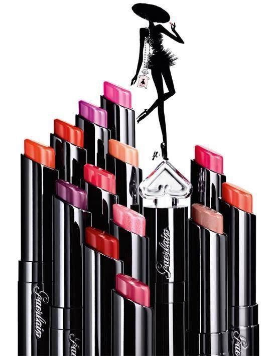Guerlain La Petite Robe Noire 50ml EDP + Lipstick 2.8g 022 + Bag