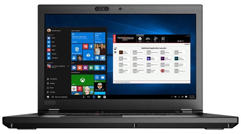 Lenovo ThinkPad P52 Black 20M90017MX