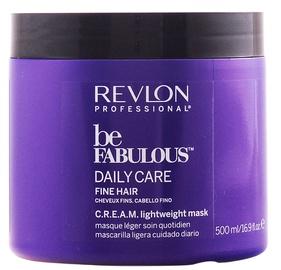Revlon Professional Be Fabulous Daily Care Fine Hair Cream Lightweight Mask 500ml