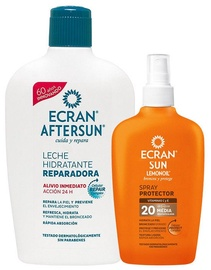 Ecran Set After Sun Lotion 400ml + Protective Spray Spf20 100ml