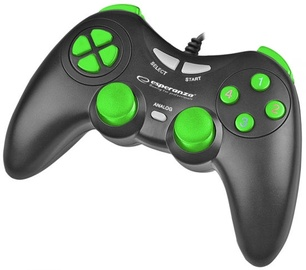 Esperanza Fighter USB Gamepad Black/Green