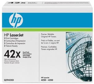HP LaserJet 42X BLACK Doublepack