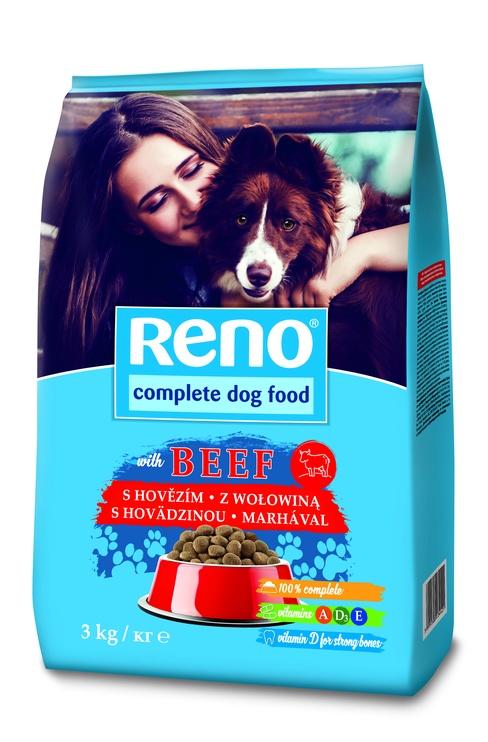 Сухой корм для собак Reno, 3 кг