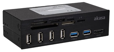 Akasa 6-Port Card Reader 5.25""