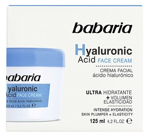 Babaria Hyaluronic Acid Face Cream 125ml