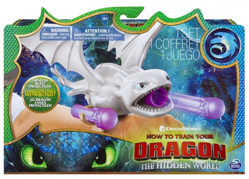 Spin Master DreamWorks How To Train Your Dragon Hidden World Light Fury