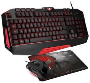 Spēļu tastatūra Spirit Of Gamer Pro-MK3 EN, melna